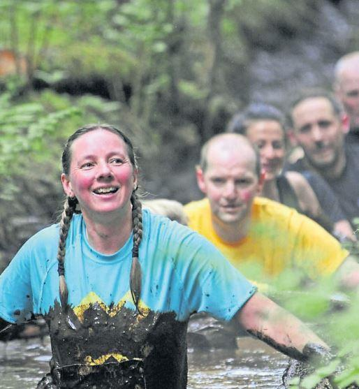 Hundreds tackle Scotland's muddiest challenge in major 10K East Ayrshire course