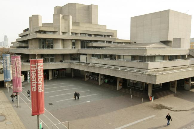 The National Theatre, on London's Southbank