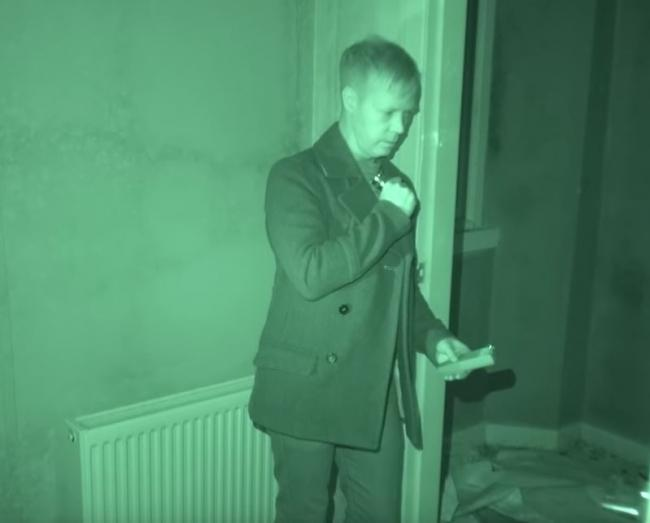Spiritualists break into Glaisnock House over night to film paranormal activity